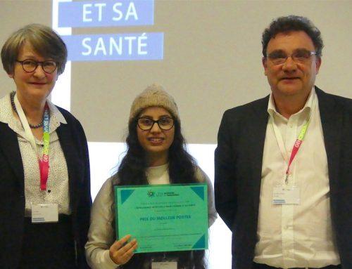 Naziha Sendi a reçu le prix du meilleur poster lors du colloque ESSI 2018 – Intelligence Artificielle et Santé !