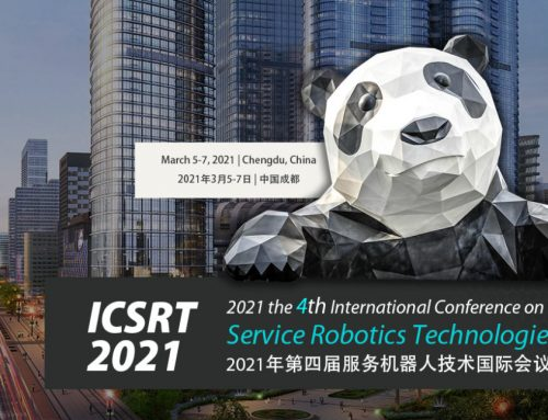 Un membre d'IBISC s'implique dans l'organisation de la conférence ICSRT 2021: the 4th International Conference on Service Robotics Technologies, qui se déroule à Chengdu, Chine, du 5 au 7 mars 2021