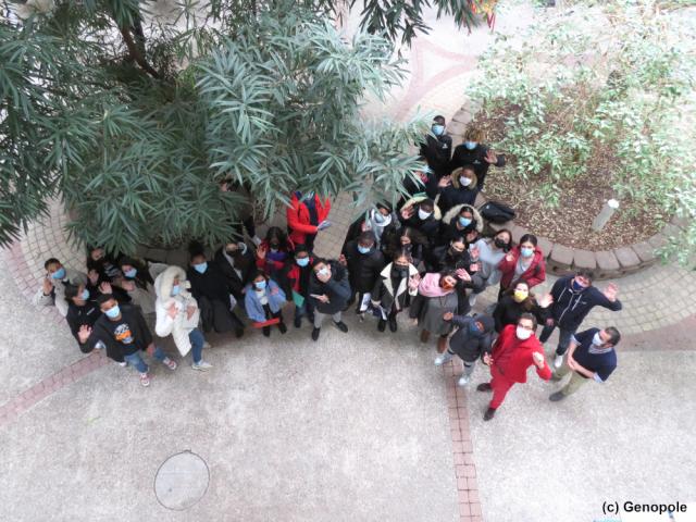 Sciences pour Tous 201 Evry - Photo de groupe