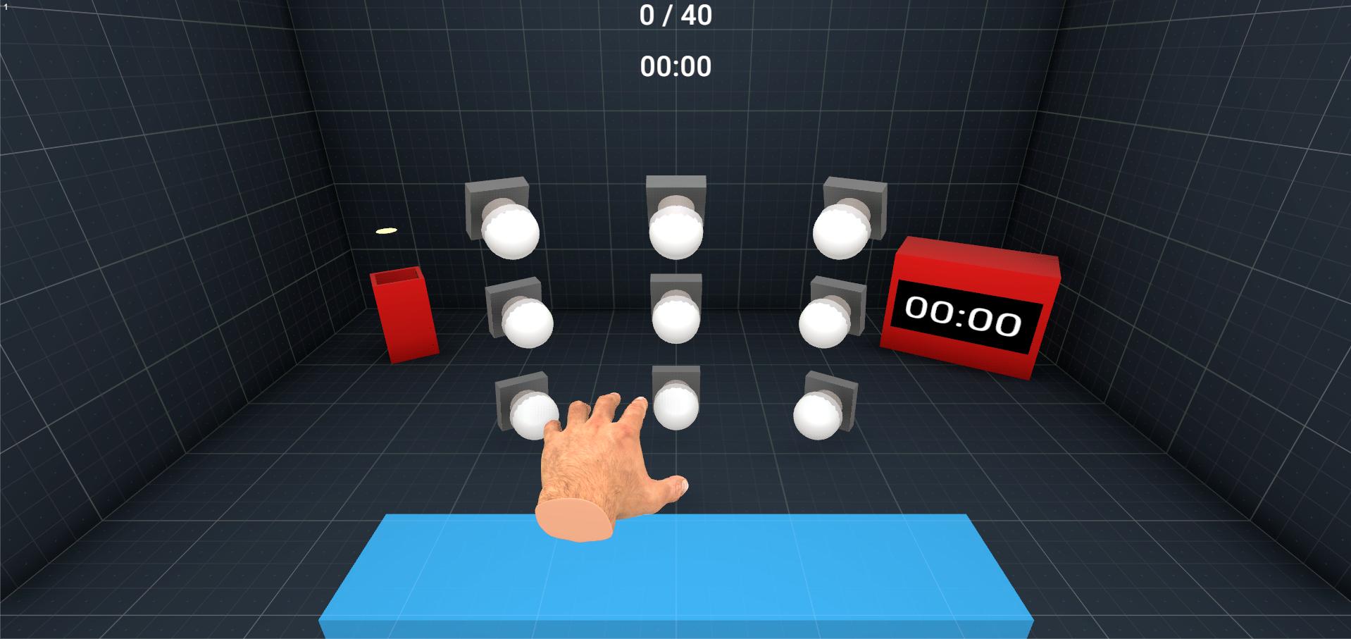 Premier prototype d'ExerGame pour une tâche de pointage
