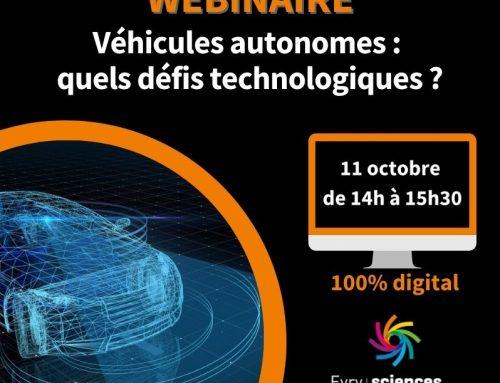 Webinaire Évry-Sénart Sciences et Innovation, le lundi 11 octobre 2021: «Véhicules autonomes: quels défis technologiques?»