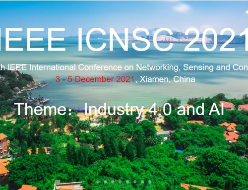 Un membre d'IBISC s'implique dans l'organisation de la 18ème conférence IEEE ICNSC, qui a lieu du 3 au 5 décembre 2021 à Xiamen, Chine !