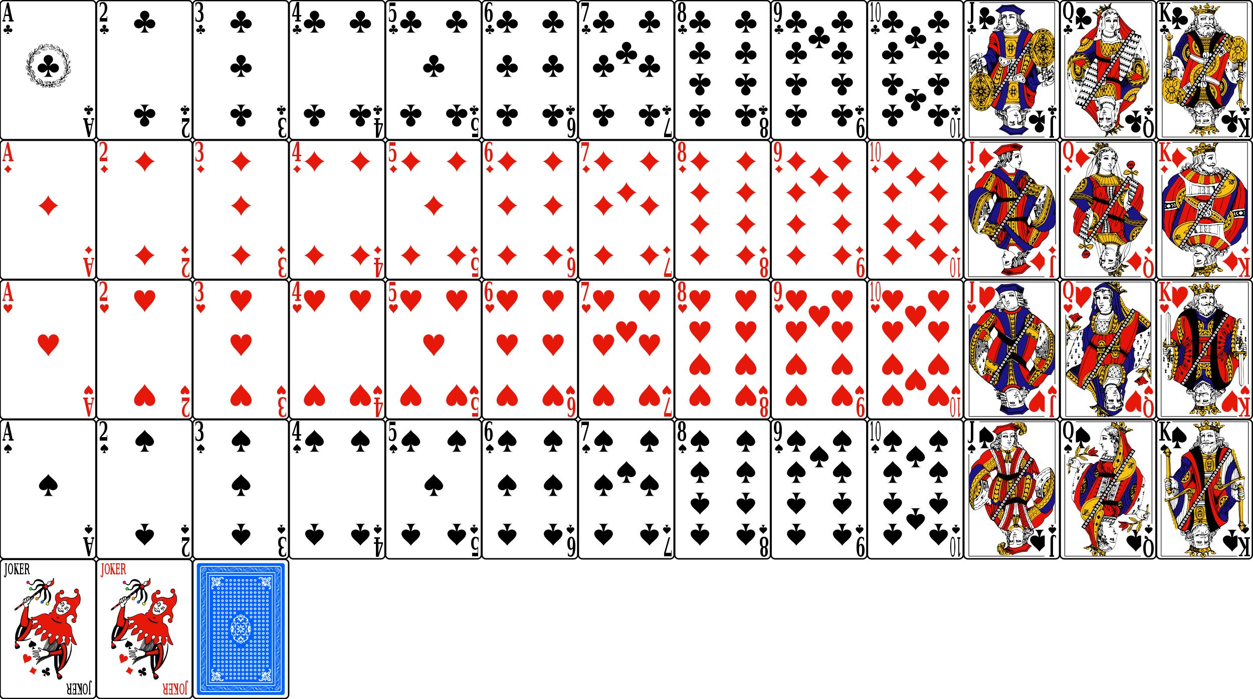 TD 4 - Jeux de cartes
